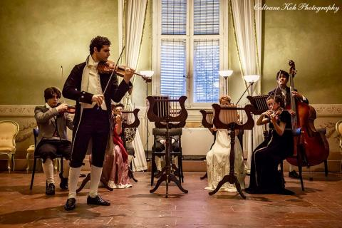 """""""Ballo a Palazzo"""" - musicisti"""