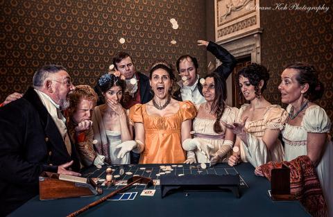 Ballo a Palazzo Ducale - Tavolo da gioco