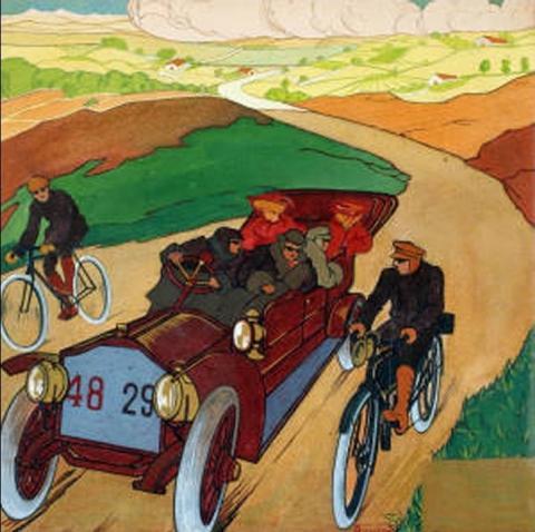 Opera dell'artista Umberto Boccioni