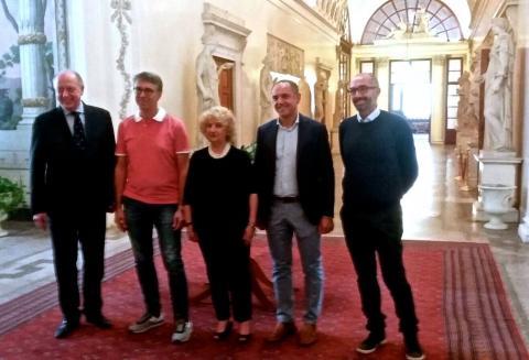 Visita di Cantone a Palazzo Ducale