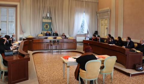 Seduta del consiglio provinciale