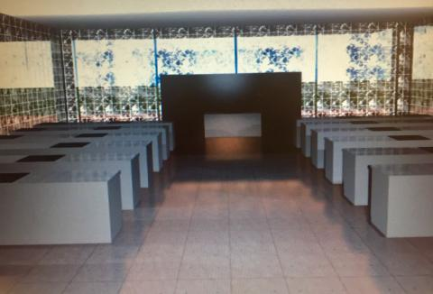 un rendering del tipo di cucina Masterchef che sarà realizzato