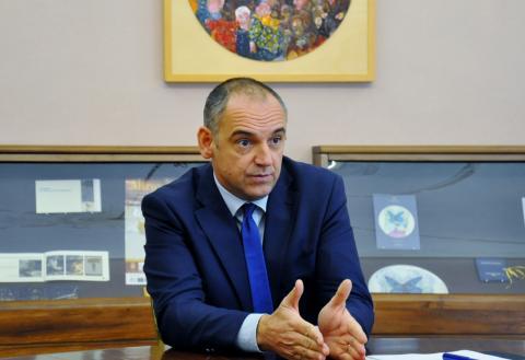 il presidente Menesini
