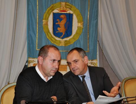 Il presidente Luca Menesini con il vice Maurizio Verona