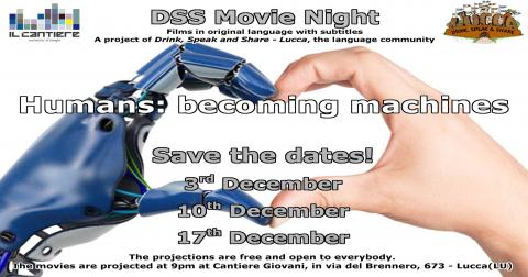 Locandina DSS Movie Night dicembre 2019