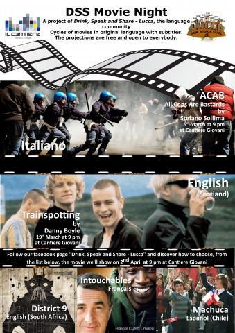 Locandina DSS Movie Night marzo