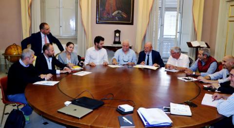 La firma avvenuta a Palazzo Ducale