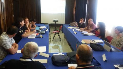 Fotografia del Comitato di Pilotaggio del progetto InterregMED PSS