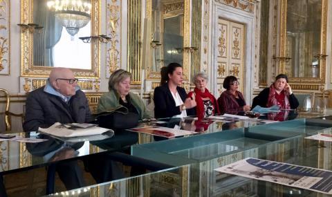 la conferenza stampa in Comune a Lucca