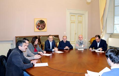 La conferenza stampa di oggi a Palazzo Ducale