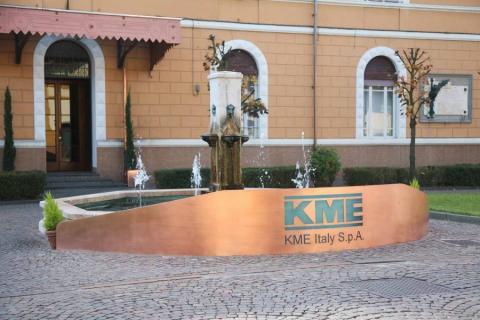 L'ingresso dello stabilimento KME