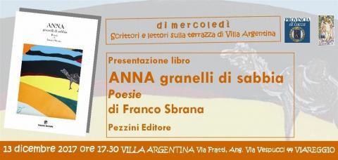 Locandina presentazione libro Franco Sbrana