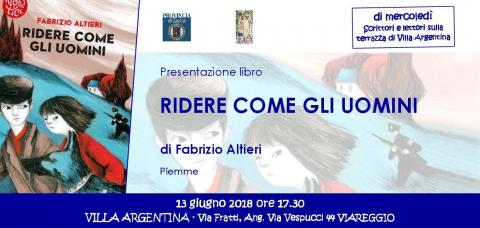 L'invito all'evento del 13 giugno