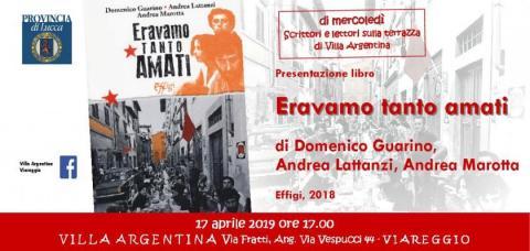 l'invito dell'incontro del 17 aprile