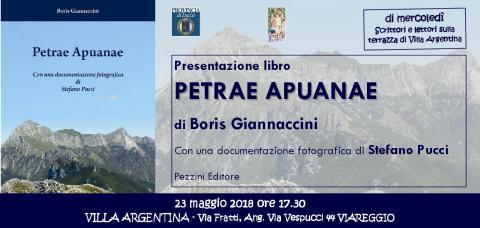 L'invito alla presentazione del libro