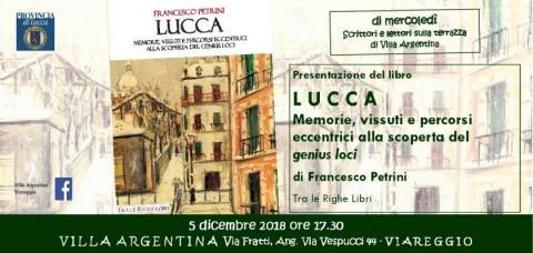 L'invito all'incontro del 5 dicembre