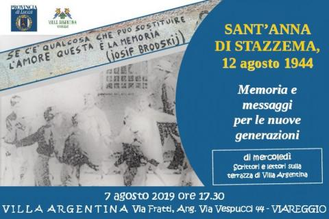 L'invito all'incontro del 7 agosto