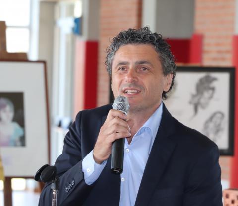 Il consigliere provinciale Luca Poletti