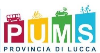 il logo del Pums della Provincia di Lucca