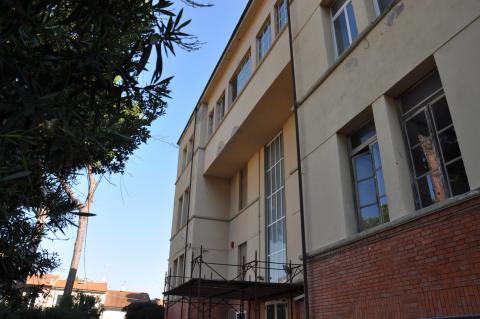 l'esterno dell'istituto Marconi