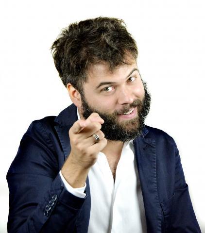Il comico Matteo Cesca