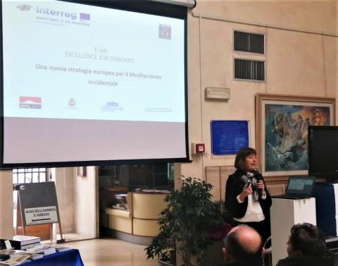 Monica Lazzaroni (Provincia di Lucca) nel suo intervento di oggi