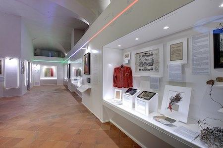 l'interno del museo del risorgimento