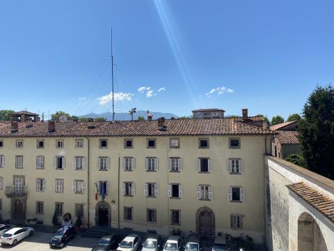 La palazzina degli Svizzeri nel complesso di Palazzo Ducale