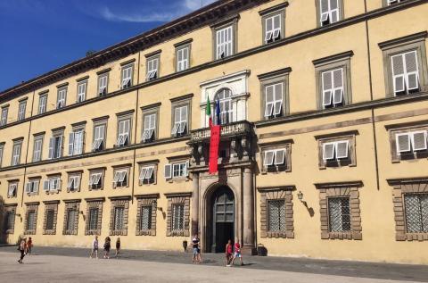 La sede della Provincia di Lucca