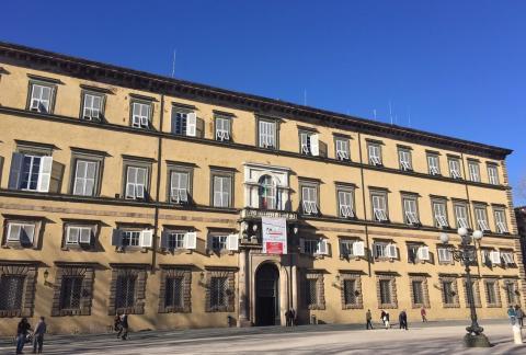 Facciata frontale di Palazzo Ducale