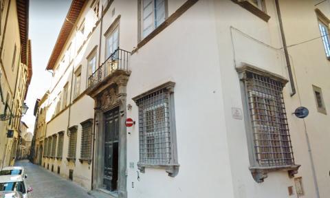 Palazzo Parensi in via S. Giustina n.32