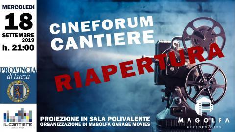 Locandina Cineforum Magolfa Garage Movies