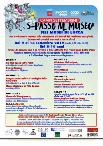 La locandina di S-PASSO AL MUSEO