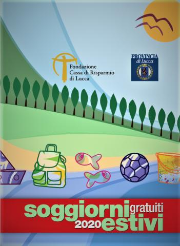 La copertina della brochure