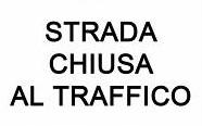 Avviso di chiusura  tratto stradale