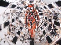 Immagine pittorica intitolata A space odyssey di Andrea Gnocchi 2001