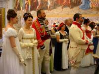 un ballo dell'epoca ottocentesca