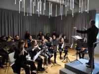 La sala della musica del Liceo Passaglia in S. Agostino