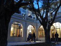 L'ingresso della Villa Liberty