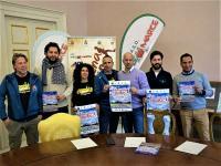 Rappresentanti di enti e organizzatori alla presentazione dell'iniziativa