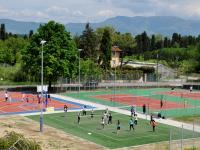 Alcuni degli impianti ora in uso al Vallsineri di Lucca