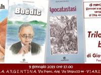 L'invito delle presentazione del 9 gennaio
