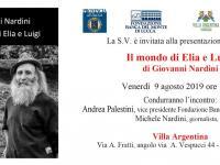 L'invito alla presentazione di venerdì 9 agosto