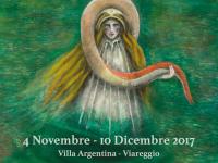 locandina mostra Isabella Staino Villa Argentina Viareggio