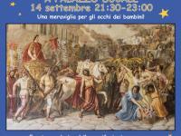 La locandina dell'iniziativa di sabato 14 settembre
