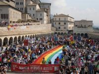 una passata edizione della Marcia della Pace Perugia-Assisi