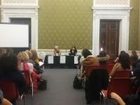 Sala Maria Luisa durante la presentazione del libro