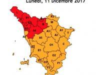 cartina allerta rossa