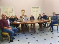 Immagine dell'incontro svolto a Palazzo Ducale