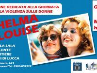 """Locandina proiezione """"Thelma & Louise"""""""